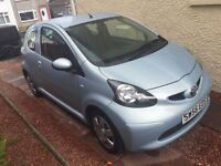 56 plate Toyota AYGO 1 ltr engine petrol