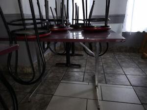 table et chaise restaurant