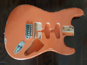 MJT Strat body, relic with nitro finish