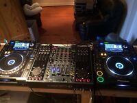 Pioneer cdj2000 Allen & Heath 4 d mixer