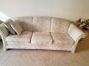 Moving sale, nearly new furniture: sofa, love seat, dinning, etc