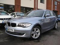 2010 60-Reg BMW 116d SE,BLUEWATER METALLIC,,£30 PER YEAR TAX OVER 70MPG!!!!