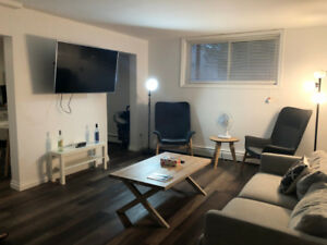 Newly Renovated & Furnished 2 Bdrm