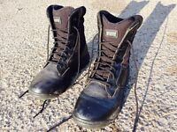 CSA approved steel toed work boots