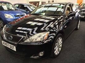 2007 LEXUS IS 220d SE From GBP4650+ Retail package.
