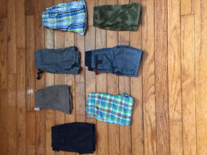 7 pairs of 6-12 months shorts