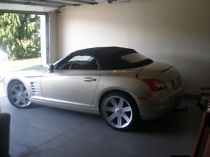 2007 CHRYSLER CROSSFIRE LIMITED CONVERTABLE