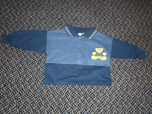 Boys Size 12 Months Polo Style Bear Sweater