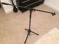 Fully adjustable mic stand