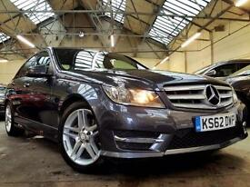 2013 Mercedes-Benz C Class 2.1 C220 CDI BlueEFFICIENCY AMG Sport Saloon 4dr