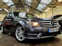2013 Mercedes-Benz C Class 2.1 C220 CDI BlueEFFICIENCY AMG Sport Saloon 4dr