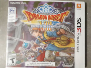 Dragon Quest VIII: Journey of the Cursed King(3DS) - Sealed