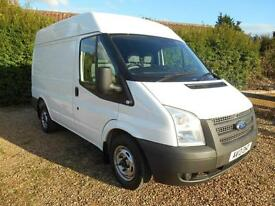 2013 13 FORD TRANSIT 2.2TDCI 100BHP 6SPEED SWB MIDI ROOF EURO5 1 OWNER FSH