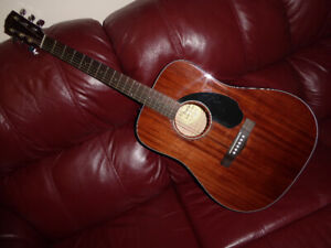 Fender CD 60s Mahogany Acoustic Guitar, NEW Condition !!!