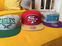 Casquettes snap back