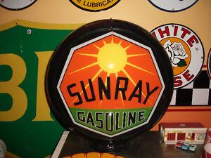 Globe Sunray Gasoline pompe a essence gas pump