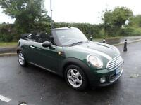 MINI CONVERTIBLE ONE Huge Spec Just 19919 miles Stunning Car, Green, Manual, Pet
