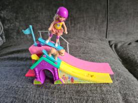 Barbie Chelsea Club Skate Ramp