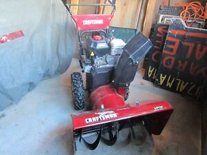CRAFTSMAN  SNOW BLOWER  9.5 Peterborough Peterborough Area image 1