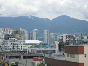 Luxury Loft with mountain and downtown views, near VGH