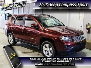 2015 Jeep Compass Sport   - cruise control -  CD player -  fog l