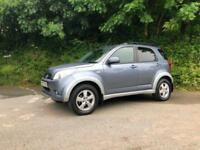 2007 57 DAIHATSU TERIOS 1.5 SX 4WD ONLY 50000 MILES EXCEPTIONAL CONDITION