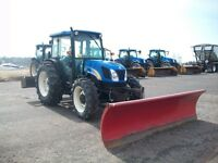 New Holland T4030 76Hp tractor & 10ft Western Ultrafinish Plow