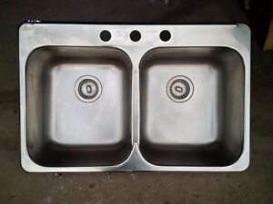 Double Stainless Sink-Kindred