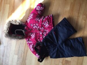 EUC - Baby Girl Snowsuit