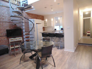 Fully furnished all included 4 bedrooms - Plateau/Downtown