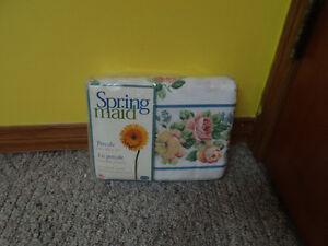 SPRING MAID PERCALE TWIN SHEET SET NEW