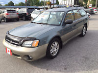 2002 Subaru Outback AWD SPORT WAGON...ONLY 65,000 KMS...MINT City of Toronto Toronto (GTA) Preview