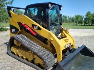 Caterpillar 289C 2 Speed Compact Track Skid Steer Loader