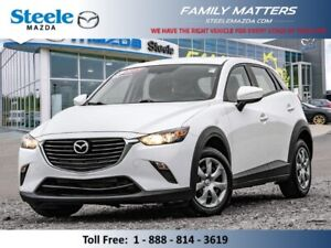 2017 Mazda CX-3 GS AWD (Unlimited Km Warranty)
