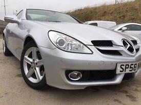 Mercedes SLK200 Auto 7 spd Kompressor Convertible only 29,000 miles
