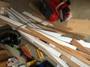 Free baseboards and door trim