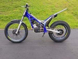 2016 Sherco 300 Trials bike. Trials motorcycle