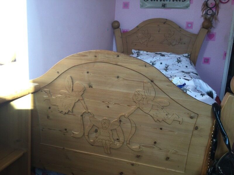 Hand Carved Wooden Fairy Bedroom Furniture Designed By Steve Allen