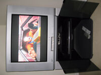 """Sony 27"""" TV + DVD player + TV stand - cheap"""