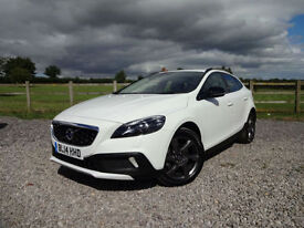 2014/14 Volvo V40 1.6TD D2 ( s/s ) Powershift Automatic Cross Country Lux