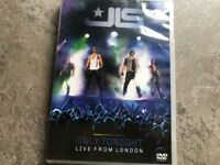 J L S. Only Tonight Live from London. DVD