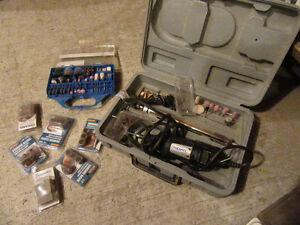 Dremel and various accessories