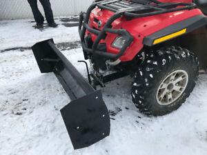 Pelle à neige pour VTT 4 pieds ou 5 pieds  NEUFFF