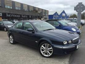 2006 (56) JAGUAR X-TYPE 2.2 DIESEL SE Blue Cream Leather Manual FSH