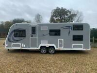 Brand NEW 2021 Bailey Pegasus Grande SE Palermo 6 Berth Caravan, Bunk Beds