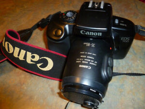 CANON EOS 700 35mm SLR FILM CAMERA WITH CANON EF 35-80mm 4-5.6 P