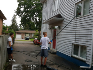 3 YEAR old Window Washing Business FOR SALE -make money in March