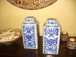 Two beautiful large size Ginger Jars