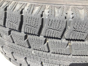4 winter  tires with rims 215/65R16