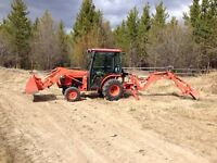 Backhoe/Tractor/Post Hole Digger/Grader/Forklift 867 335 0396
